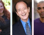 New Board Members (from left to right): Evan Crump, Dara Gold, Sam Simon, Ken Stancil and Crystal Swann